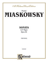 Sonata in F Major, Op. 84