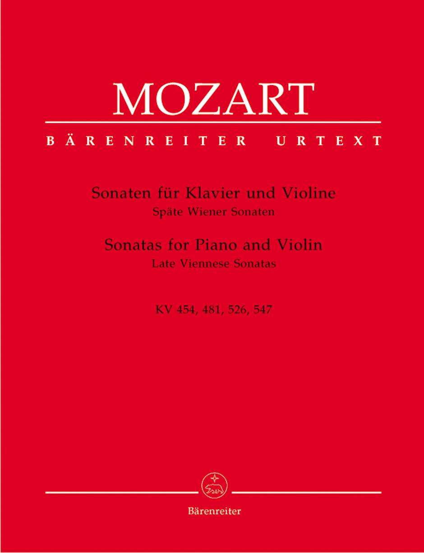 Late Viennese Sonatas