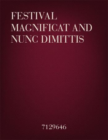 Festival Magnificat and Nunc Dimittis