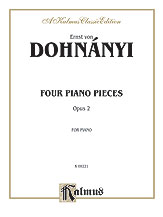 Four Piano Pieces Op. 2