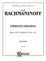14 Preludes Op. 3 No. 2 Op. 32
