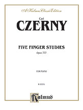 Five Finger Studies Op. 777