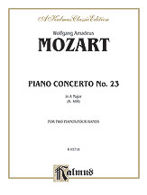 Concerto No. 23 in A Major, K. 488
