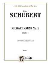 Military March Op. 51 No. 1-2 Pno 8 Han