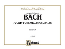 44 Organ Chorales