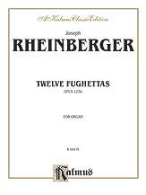 12 Fughettas Op. 123b