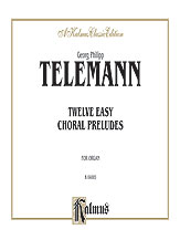 12 Easy Choral Preludes