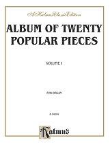 Album of 20 Popular Pieces Organ
