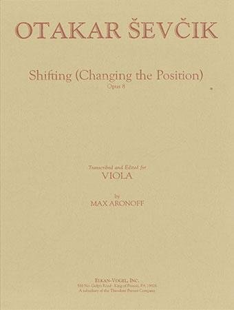 Shifting Studies Op. 8-Viola Solo    Cover
