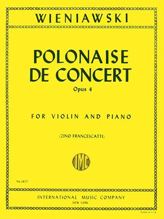 Polonaise de Concerto, Op. 4