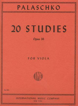 20 Studies Opus 36