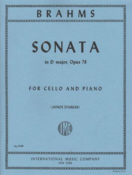 Cello and Piano Sonata in D Major, Op. 78