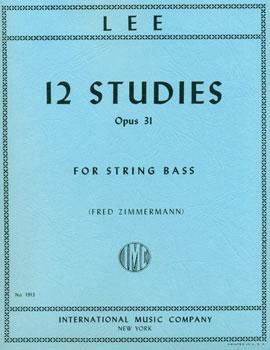 12 Studies for String Bass Op. 31