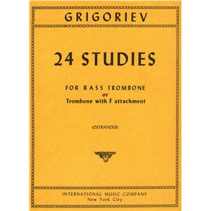 24 Studies for Bass Trombone