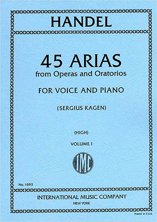 45 Arias from Operas and Oratorios No. 1