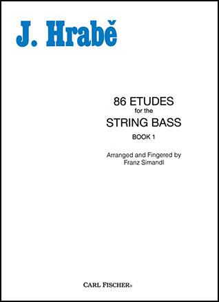 86 Etudes Book 1-String Bass