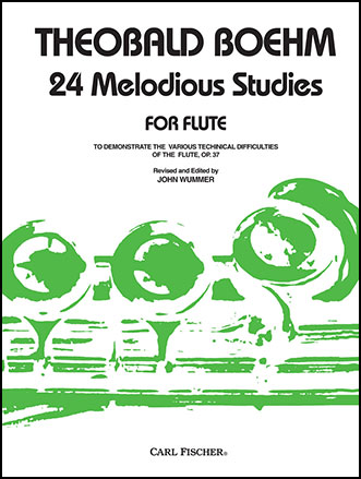 24 Melodious Study-Flute