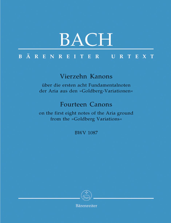 14 Canons BWV1087