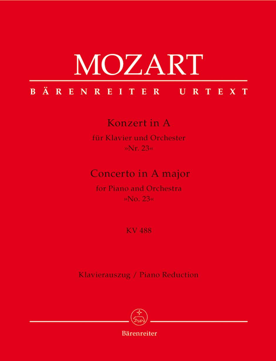 Concerto No. 23 in A Major, K. 488