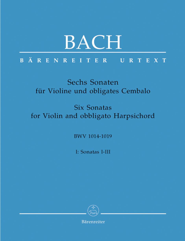 Six Sonatas for Violin Book I