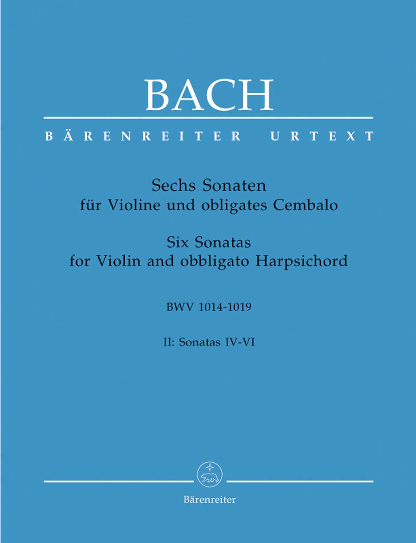 Six Sonatas for Violin Book 2