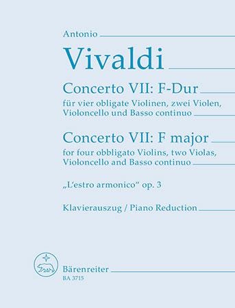 Concerto No. 9 in F-4 Violins/Piano