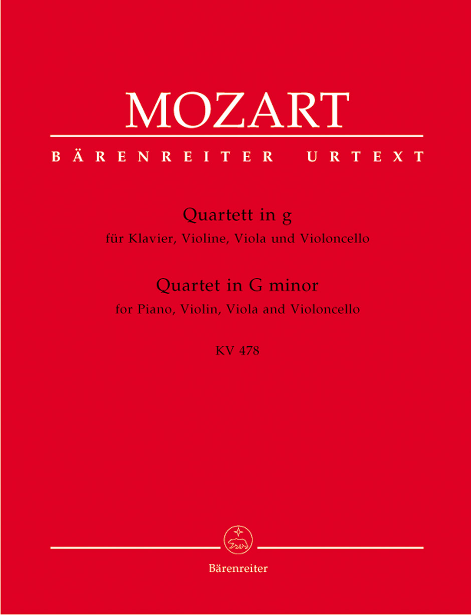 Quartet in G Minor, K. 478