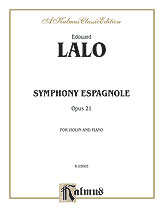 Symphony Espagnole Op. 21