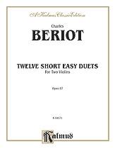 12 Short Easy Duets Op. 87