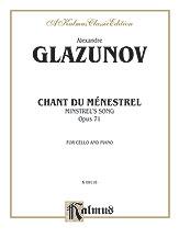 Chant du Menestrel Op. 71-Cello/Piano