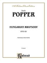 Hungarian Rhapsody Op. 68-Cello/Piano