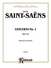 Concerto No. 1 Op. 33-Cello/Piano