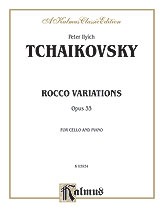 Rococo Variations Op. 33-Cello