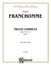 12 Caprices Op. 7 Two Vcs Book 2
