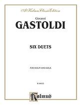 Six Duets-Violin/Viola