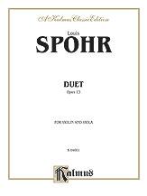 Duet Op. 13-Violin/Viola
