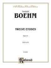 12 Etudes Op. 15 for Flute