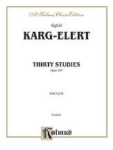 30 Studies Op. 107-Flute