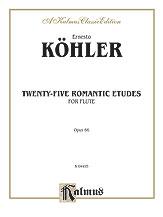 25 Romantic Etudes-Flute