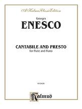 Cantabile and Presto for Flute/Piano