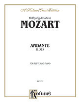 Andante in C Major K. 315-Flute/Piano