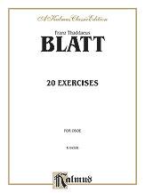 20 Exercises-Oboe/Sax