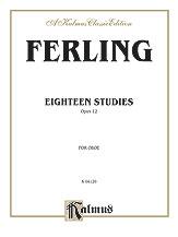 18 Studies Op. 12-Oboe