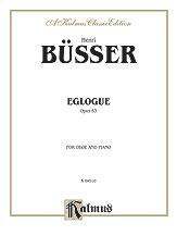 Eglogue Op. 63-Oboe/Piano