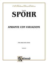 Andante Con Variationi-Oboe/Piano