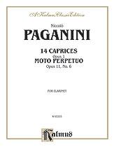 14 Caprices Op. 1/Moto Perpetuo