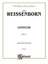 Capriccio Op. 14-Bssn/Pf
