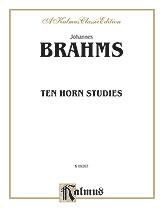 Ten Horn Studies Op. Posth