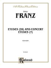 Etudes and Concert Etudes-Horn