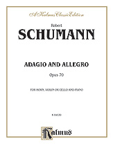 Adagio and Allegro Op. 70